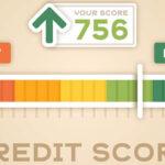 Vector of A Credit Score Calculater Representing High Score.