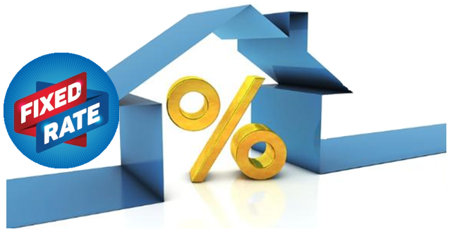An Image Representing The Fixed Rate Of A House Concept.
