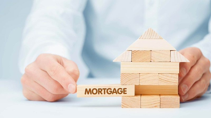 An Image Representing The Real Estate Loan Concept.