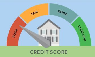 An Image of Credit Score Indicator Which Start From Poor To Excellent.