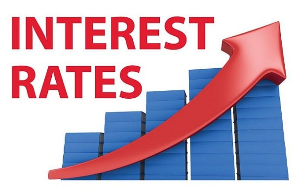An Image Showing Interest Rates Graph.